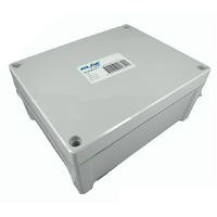 NHP NLP241911 Adaptable Box 240x191x107mm IP65 Grey
