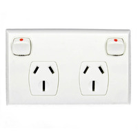 Powerclip Double Power Point GPO 15 Amp