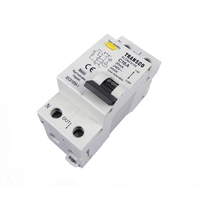 Safety Switch Circuit Breaker Combination RCD MCB 2 Module Double Pole 16 Amp 4.5kA