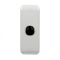 1 Gang ARCHITRAVE Light Switch Wafer Slimline Extra Low Voltage 12-24V