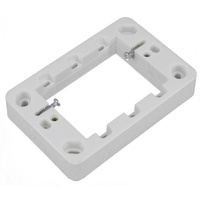 Wafer Slimline 20mm Light Switch Power Point Mounting Flange